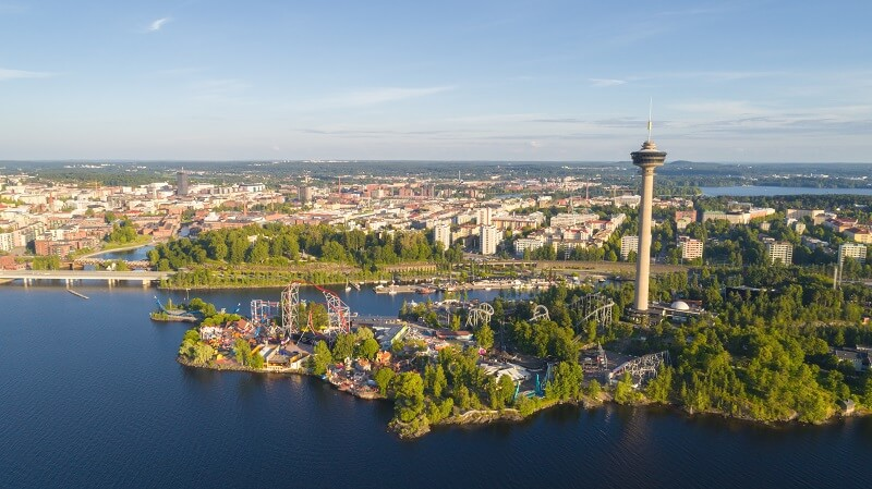 Suomen toiseksi suurin huvipuisto